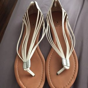 Lucky Brand Shoes - LUCKY BRAND WHITE SANDAL